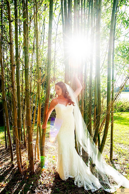 Bride in bamboo