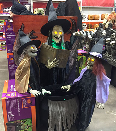 home depot halloween decor