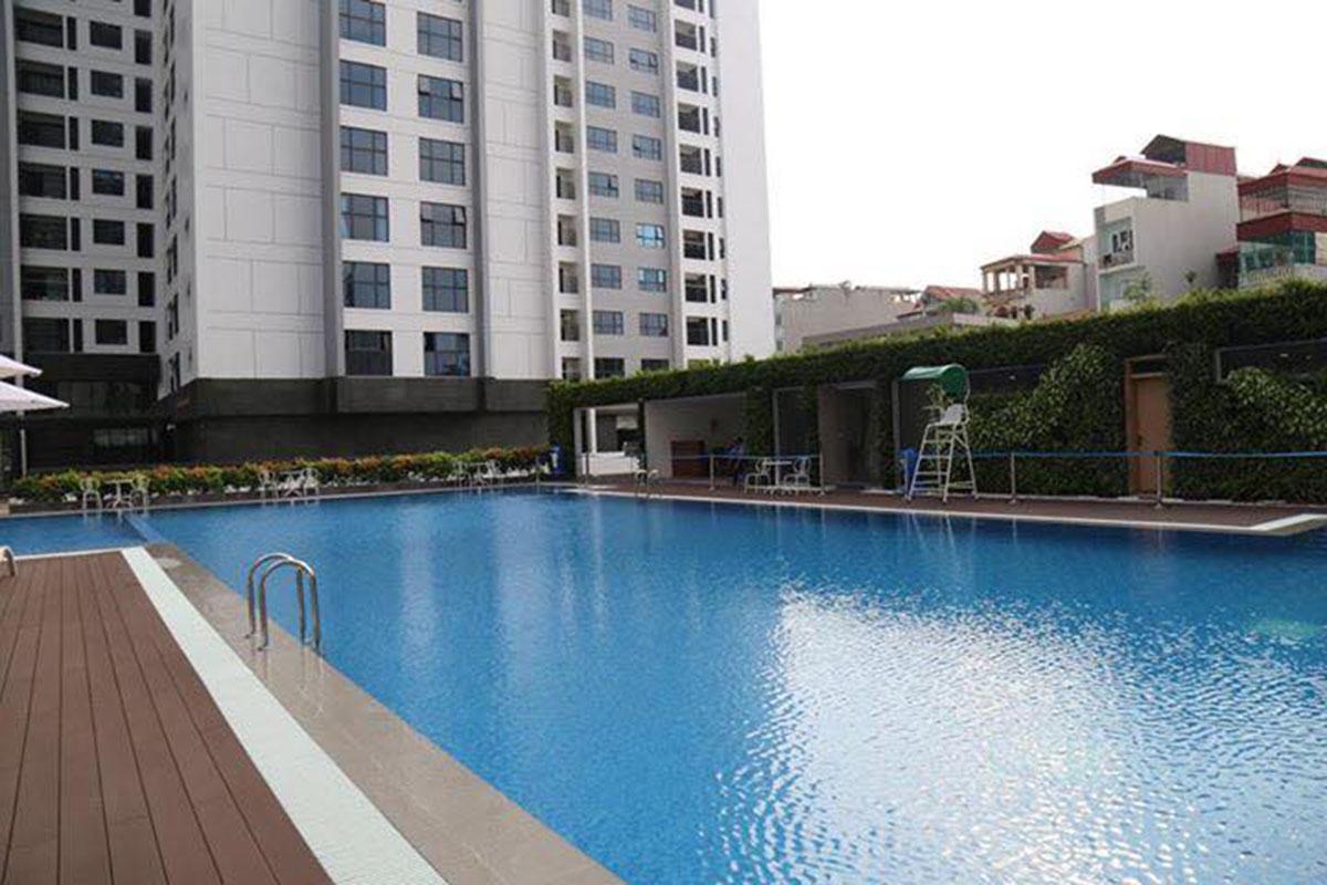 Bể bơi ngoài trời dự án TNR Goldmark City