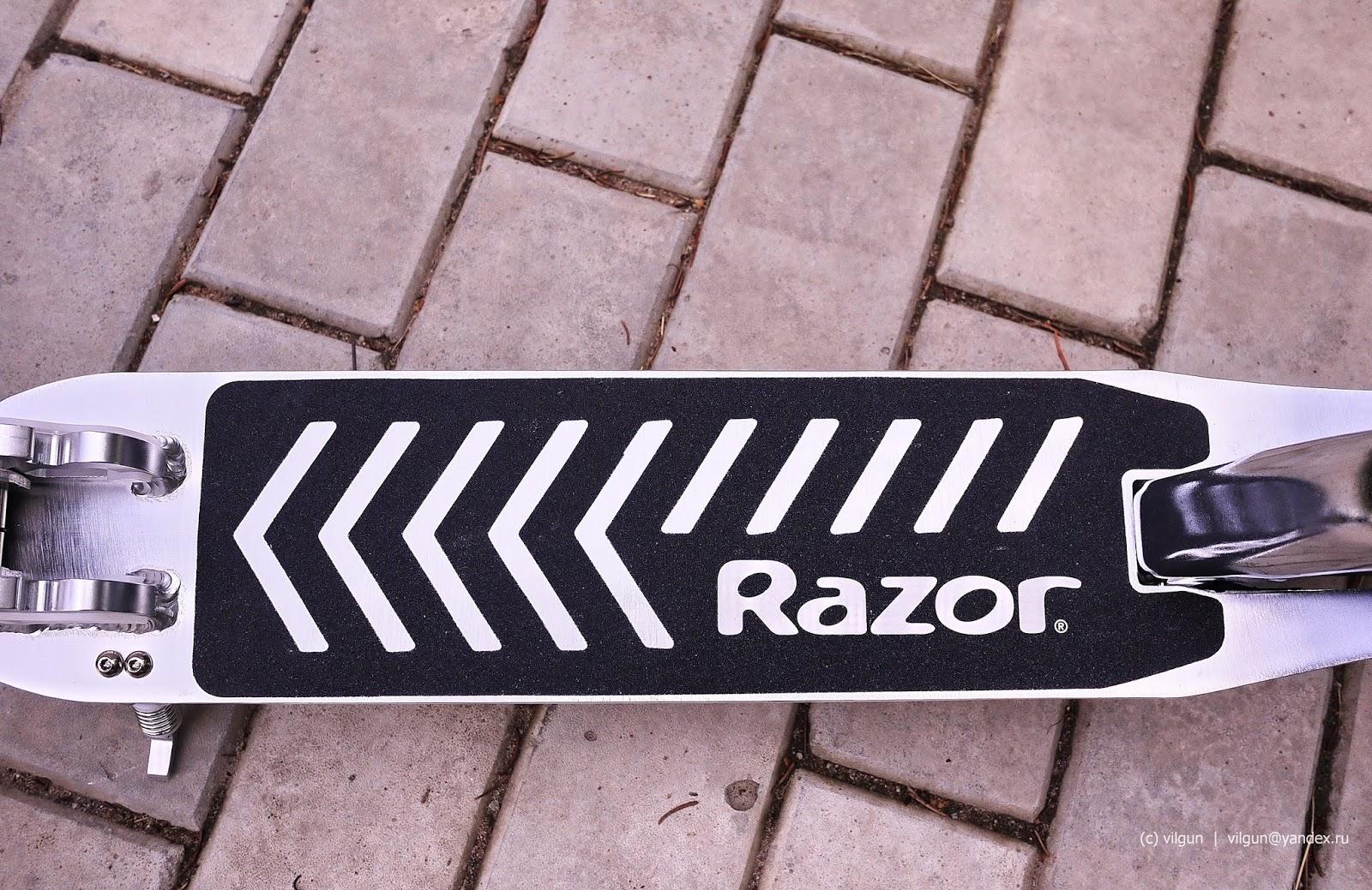 Тест-драйв | Самокат Razor A5 DLX