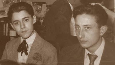 Los ajedrecistas Antoni Puget y Josep Monedero
