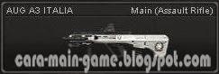 AUG A3 ITALIA Senjata Point Blank PB Weapon