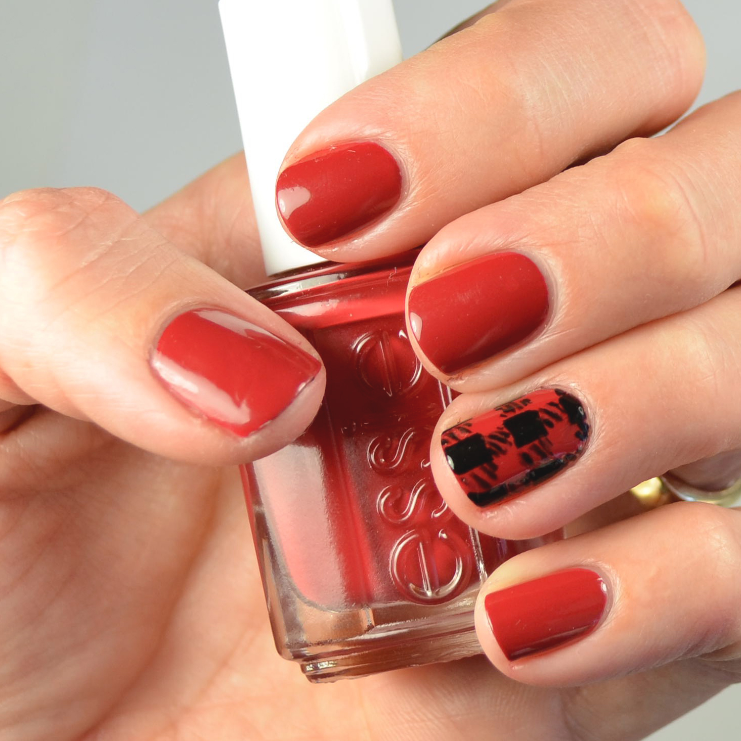 Nail Art Tutorial All I Want For Christmas Is Plaid: Go Polished: My #12 Favorite Fall Polish For 2015
