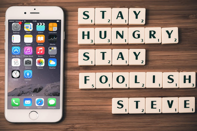 stay hungry stay foolish quote steve jobs iphone quotation