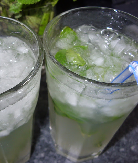 Receta Mojito sin alcohol Thermomix