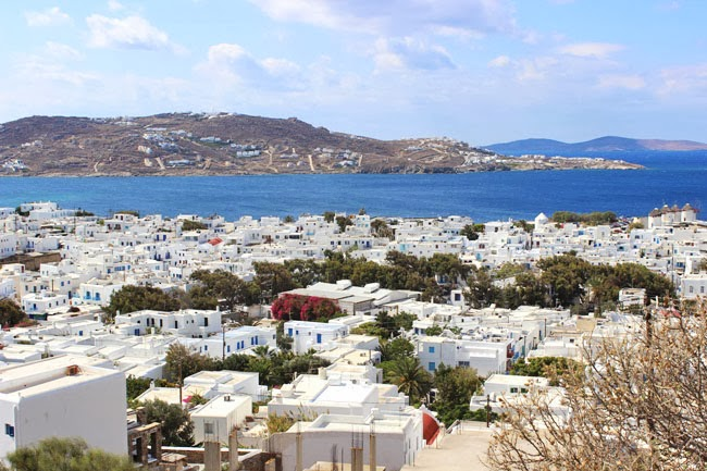 Chora town Mykonos island