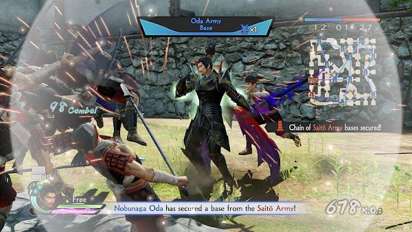 Samurai Warriors 4: Empires [PSN+DLC] (USA) PS3 ISO Screenshots #2
