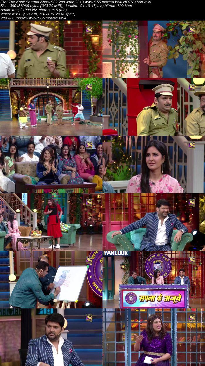 The Kapil Sharma Show S02 2nd June 2019 Full Show Download HDTV HDRip 480p