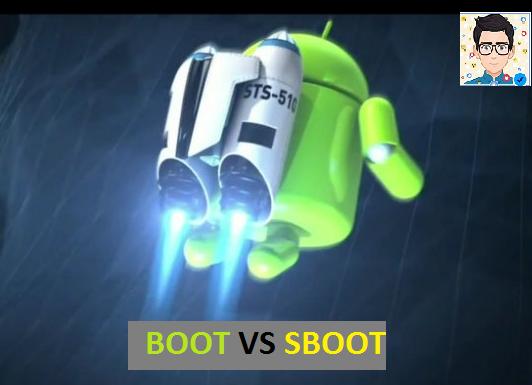 ما هو boot و sboot ما الفرق وما الاستعمالات وبأي خانة نفلشهم