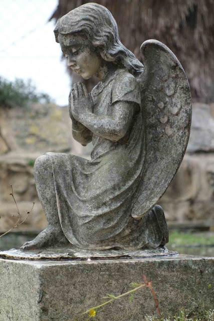 Un Angelot - cimetière catholique grec Jerusalem