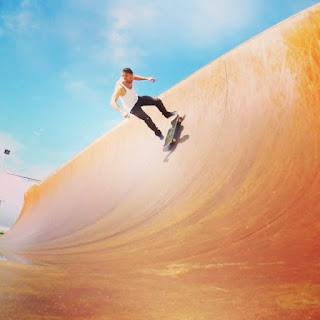 Mark Jansen Skateboarding Adelaide Half Pipe