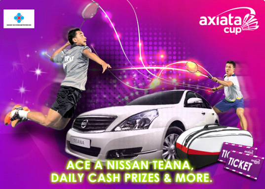 Axiata Cup 2013 : The Cube – Gateminton Challenge