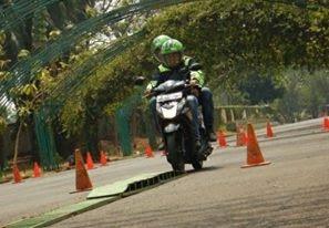 Pengalaman Tes Safety Riding Ojek Online, grabbike, gojek, ojek online