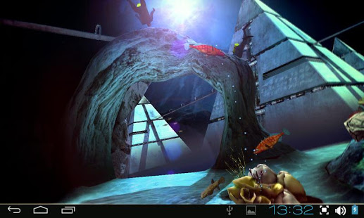 Atlantis 3D Pro Live Wallpaper 1.2 APK Android ~ Pro APK Download