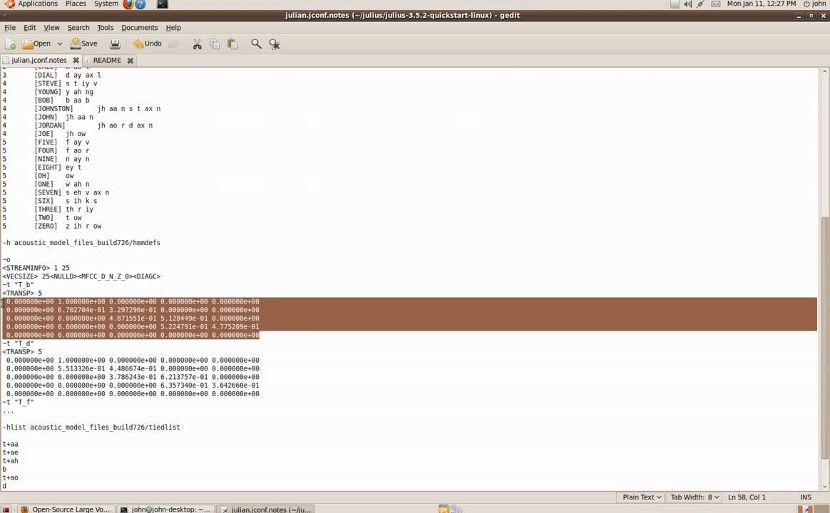 Linux speech synthesis command line