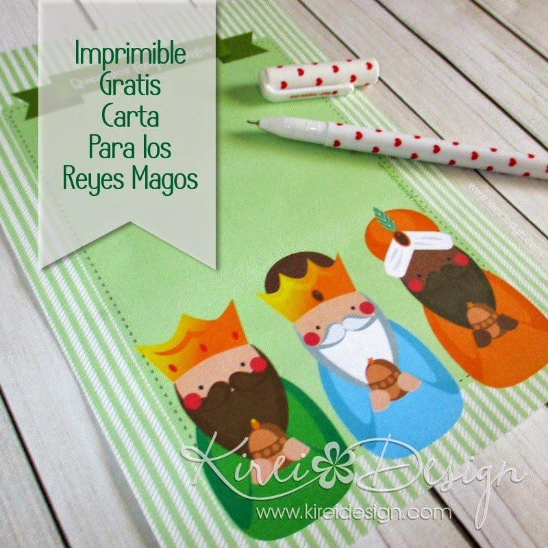 descargable gratis carta reyes magos