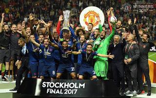 Mourinho Lengkapi Koleksi Trofi Eropa Manchester United