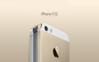 Wallpaper: iPhone 5S Gold, Space Grey, Silver