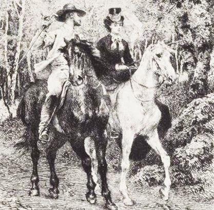 Madame Bovary illustrazione di E. Boilvin