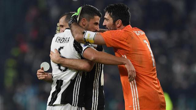 Buffon soal Peluang Treble Juventus