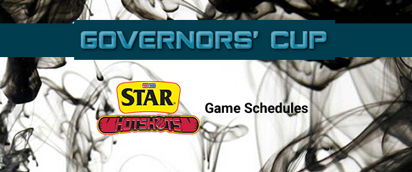 List of Star Hotshots Match Schedules 2017 PBA Governors' Cup