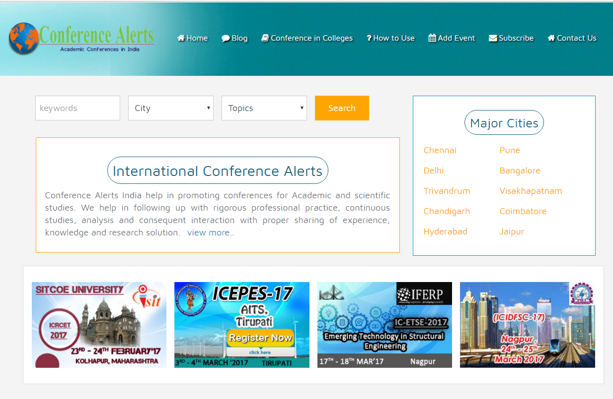 10 best blogs to follow about academic conference alerts
