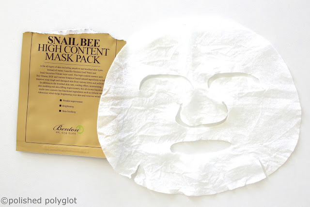 Korean Beauty: face mask
