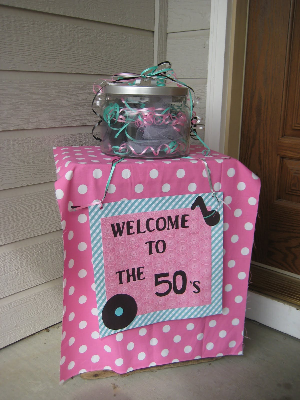 Doodles And Doilies: 50's Birthday Party