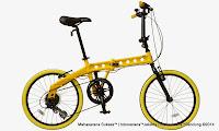 Sepeda Lipat DOPPELGANGER 230 Oxygen 20 Inci