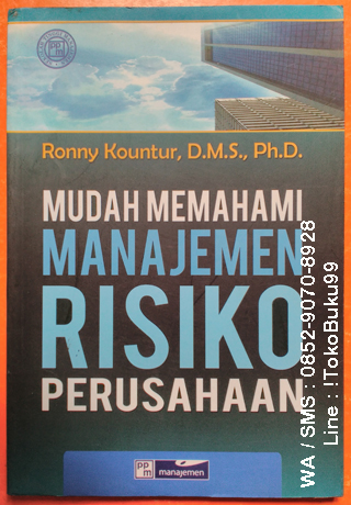 Buku Manajemen Risiko By Ronny Kountur D M S Ph D Toko Buku