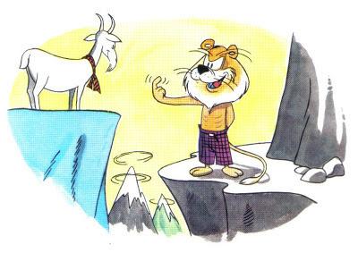 fabula el leon y la cabra