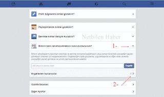 Facebook engeli kaldırma