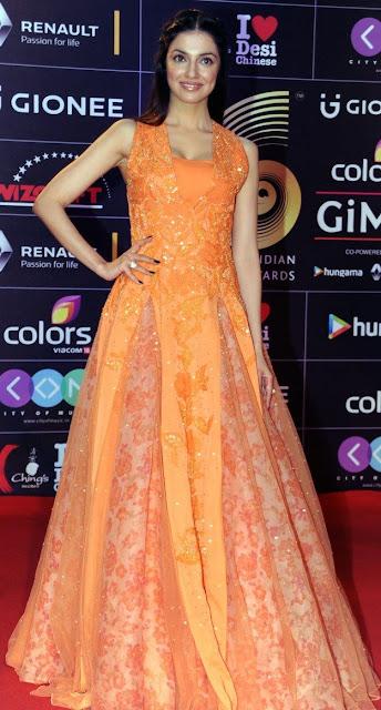 Divya Khosla Kumar in Neeta Lulla Gima Gown