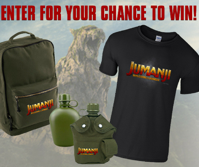 Enter to Win a Jumanji Prize Pack