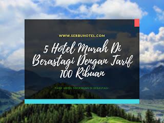 5 Hotel Murah Di Berastagi Dengan Tarif 100 Ribuan