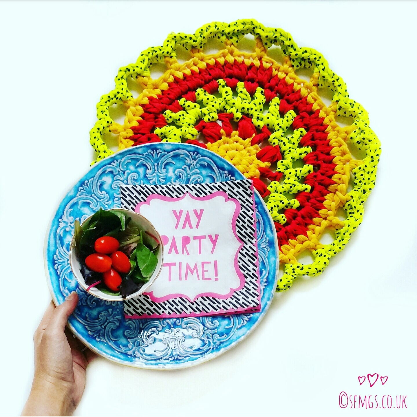 crochet pattern free mandala home picnic table