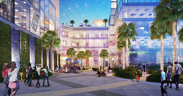 Trung tâm thương mại tại Nam Hồng Garden