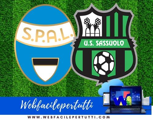 Spal - Sassuolo Probabili Formazioni - Dove Vederla In TV e Diretta Streaming  (27/09/18)