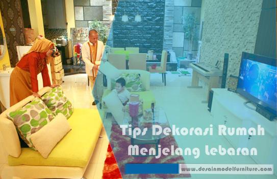 Tips mudah Dekorasi Rumah Menjelang Lebaran