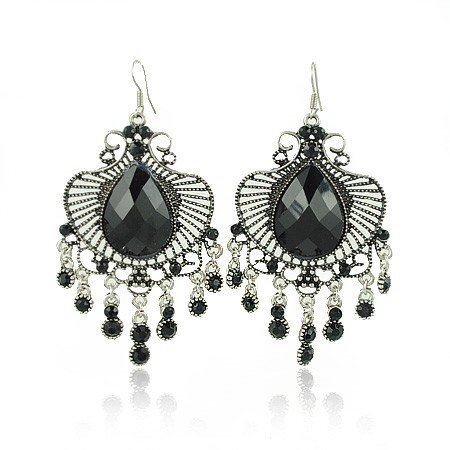 Two Golden Rings: Big Chandelier Earrings | Big Chandelier ...