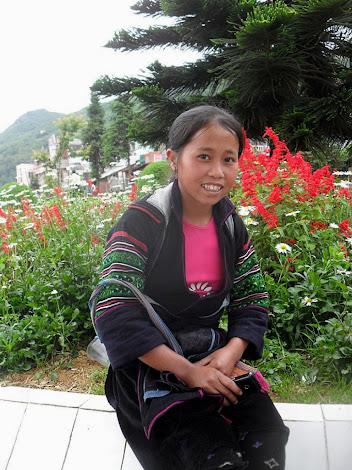 Vietnamitas Hmong Miao de la montanas de Sapa (Lao Cai, Vietnam)