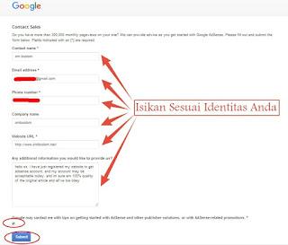 Cara daftar Adsense Full aproove Menggunakan Cara Edan