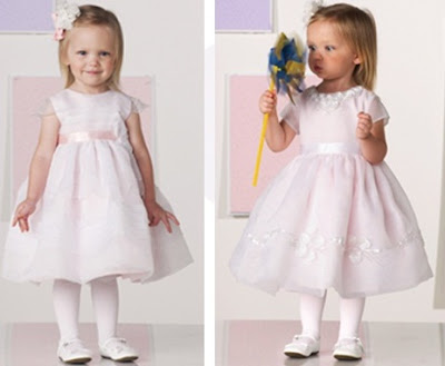 Creaciones de la Abuela Zilea para bebes y niños vestidos de fiesta niñas