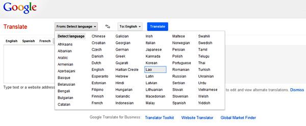 Google Translate Now Has Lao