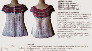 Remera estilo marinero con explicación en Español