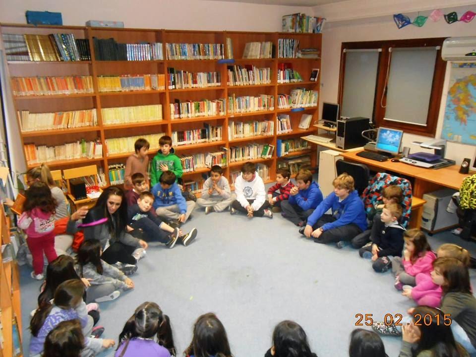 Δημοτική Βιβλιοθήκη: Παντομίμα & Κινητική έκφραση συναισθημάτων με την Αναστασία Παπαγεωργιάδου (φωτογραφίες)