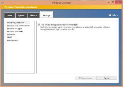 Komputer atau laptop pada masa kini perlu mempunyai sistem keamanan yang lebih berpengaruh diband Cara Mengaktifkan Windows Defender di Windows 8 Lengkap