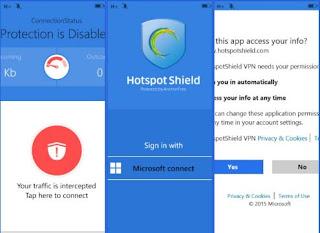 Cara Menggunakan Hotspot Shield