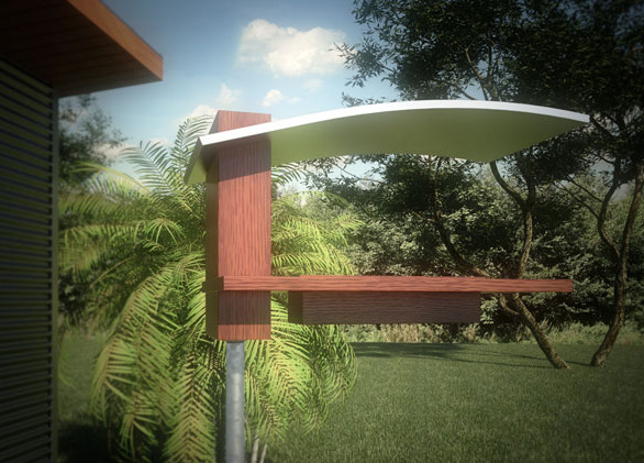 Neoshed Birdhouses And Bird Feeders For Modern