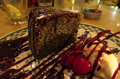 Melbourne, After The Tears, poppyseed cake